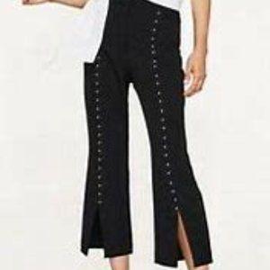 ZARA High-Waisted Pants-Dress Trouser